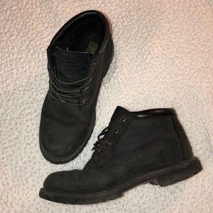 Women's Timberland waterproof black boots : low